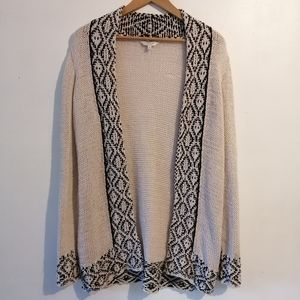 Lucky Brand open front knit sweater